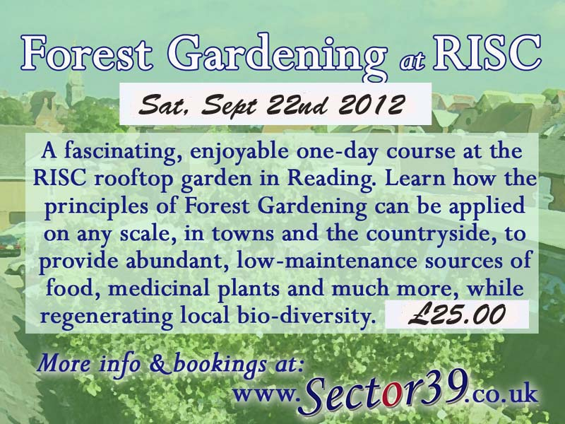 forest gardening at RISC 2012