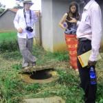 School biogas project