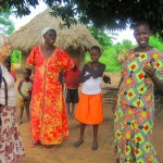 villagers in Kumi district made us very welcome