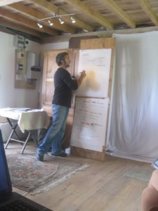 Bruce maps out the design strategy