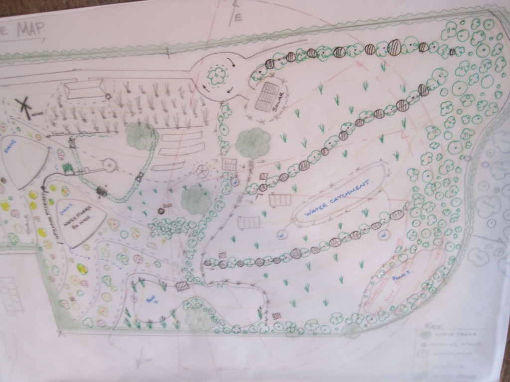 Larger version of the design map