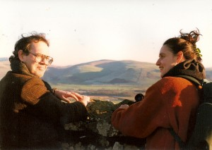 Martin Donnelly RIP, with Sue looking over Dysynni mouth