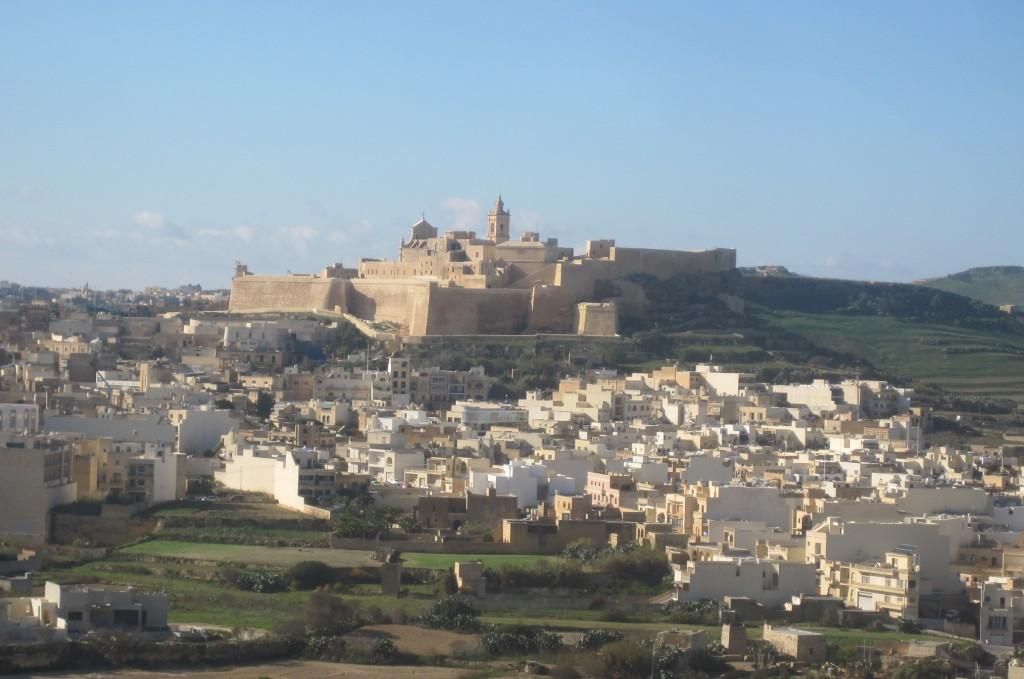 pic by steve jones of medina, gozo, malta