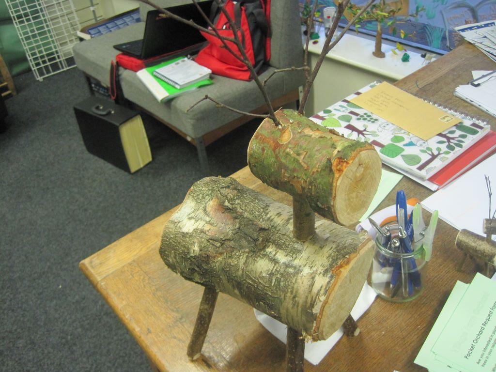 Wooden raindeer
