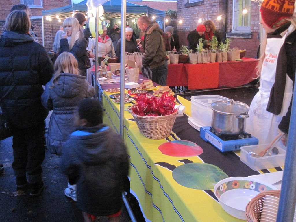 Bee fair, market in Toxteth