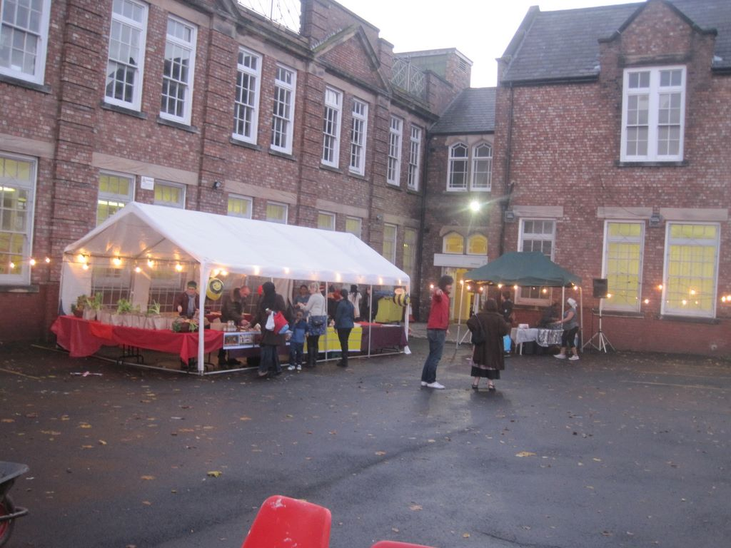 Bee market at John Archer Hall